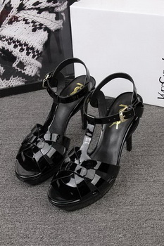 Yves Saint Laurent 100mm Sandal YSL293 Black