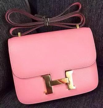 Hermes Constance Bag Calfskin Leather H9999 Pink