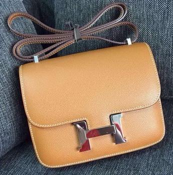 Hermes Constance Bag Calfskin Leather H9999 Wheat
