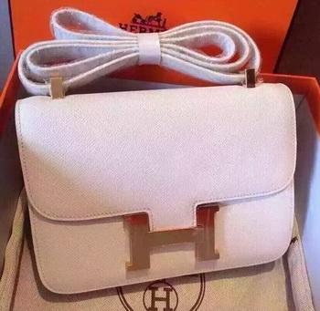 Hermes Constance Bag Calfskin Leather H9999 White