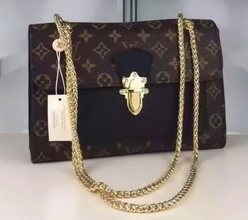 Louis Vuitton Monogram Canvas PALLAS CHAIN Bag M41731 Black