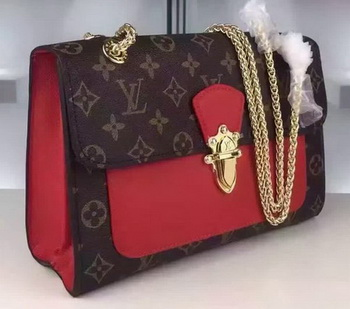 Louis Vuitton Monogram Canvas PALLAS CHAIN Bag M41731 Red