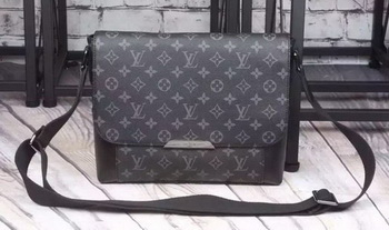 Louis Vuitton Monogram Eclipse Canvas MESSENGER PM EXPLORER M40565