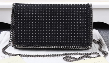 Stella McCartney Falabella PVC Cross Body Bags SM829T Black