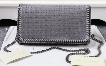 Stella McCartney Falabella PVC Cross Body Bags SM829T Grey