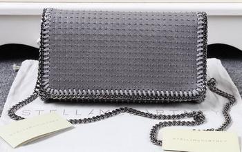 Stella McCartney Falabella PVC Cross Body Bags SM829T Grey