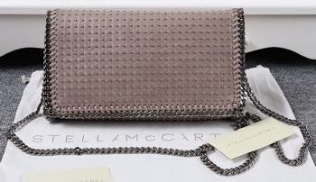Stella McCartney Falabella PVC Cross Body Bags SM829T Khaki
