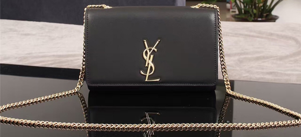 Yves Saint Laurent Monogramme Cross-body Shoulder Bag 1311228 Black