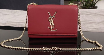 Yves Saint Laurent Monogramme Cross-body Shoulder Bag 1311228 Burgundy