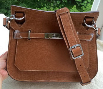 Hermes Jypsiere 31CM Shoulder Bag Calfskin Leather H0880 Wheat