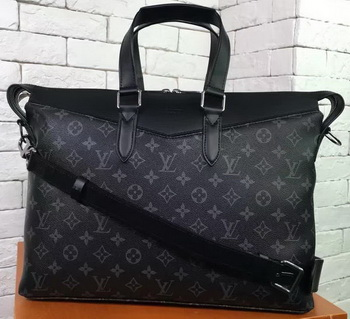 Louis Vuitton Monogram Eclipse Canvas BRIEFCASE EXPLORER M40566