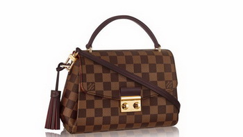 Louis Vuitton Damier Ebene Canvas CROISETTE Bag N53000