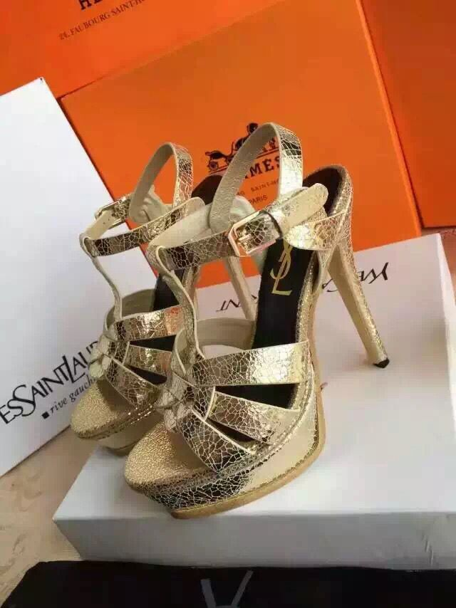 Yves Saint Laurent Sandal YSL17111 Gold