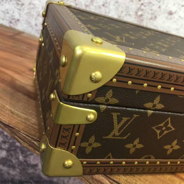 Louis Vuitton Monogram Canvas Watches Box 40664 Blue