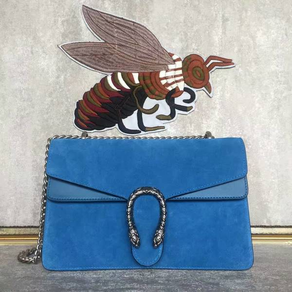 Gucci Dionysus Suede Leather Mini Shoulder Bag 400249 Blue