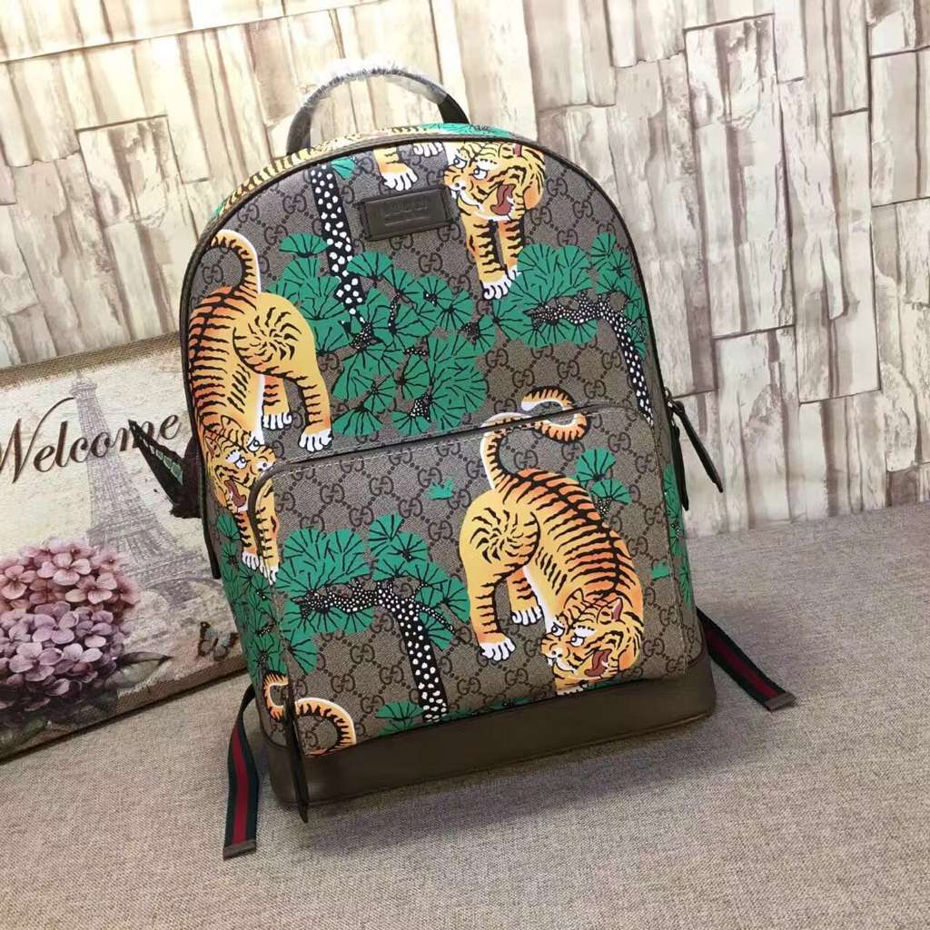 Gucci GG Canvas Backpack 427041