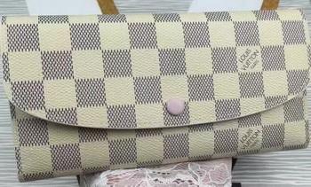 Louis Vuitton Damier Azur Canvas Emilie Wallet N60696