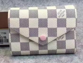 Louis Vuitton Damier Azur Canvas Victorine Wallet N62360