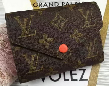 Louis Vuitton Monogram Canvas Victorine Wallet M62360 Orange