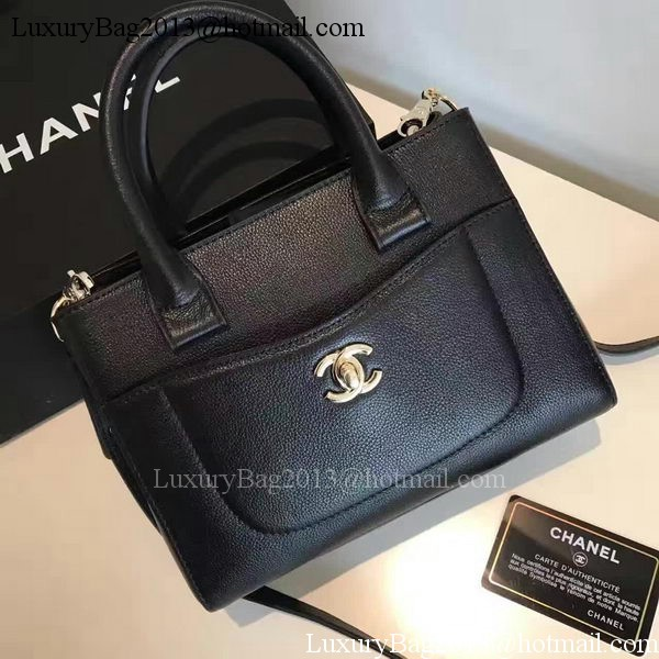 Chanel Tote Bag Original Leather A66309 Black