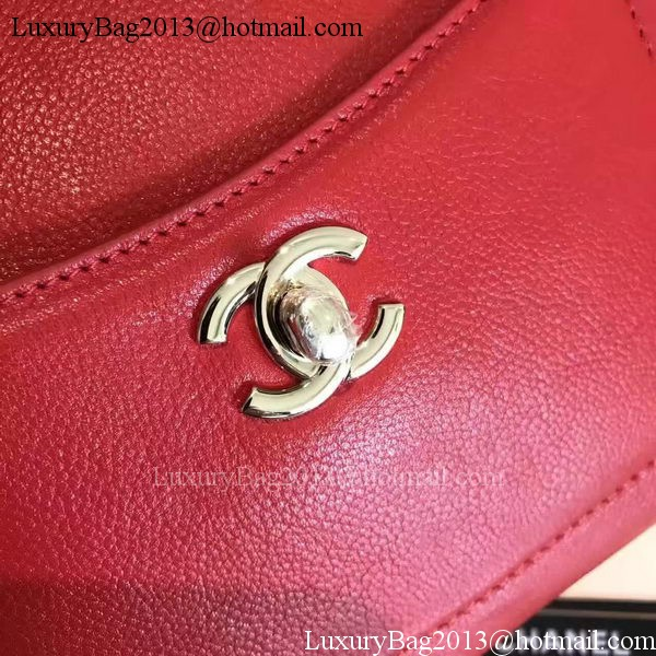 Chanel Tote Bag Original Leather A66309 Red