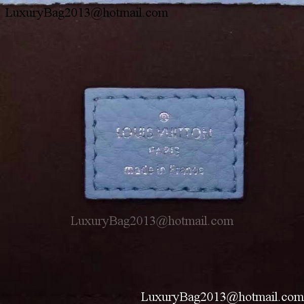 Louis Vuitton Calfskin Leather Babylone PM M50031 Blue
