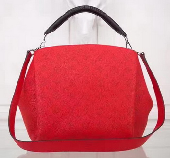 Louis Vuitton Calfskin Leather Babylone PM M50031 Red