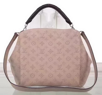Louis Vuitton Mahina Leather BABYLONE CHAIN BB Bag M51223 Apricot