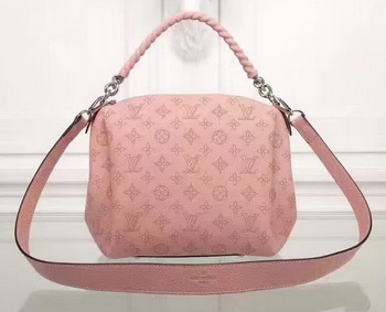 Louis Vuitton Mahina Leather BABYLONE CHAIN BB Bag M51223 Pink