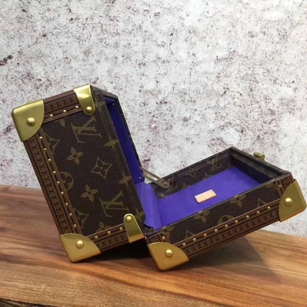 Louis Vuitton Monogram Canvas Treasure Box 40666 Dark Blue