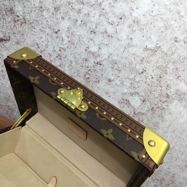 Louis Vuitton Monogram Canvas Treasure Box 40666 Yellow