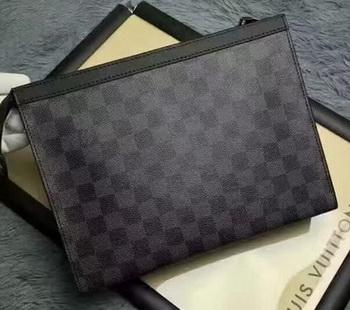 Louis Vuitton Damier Graphite Canvas TOILETRY POUCH 26 N41696