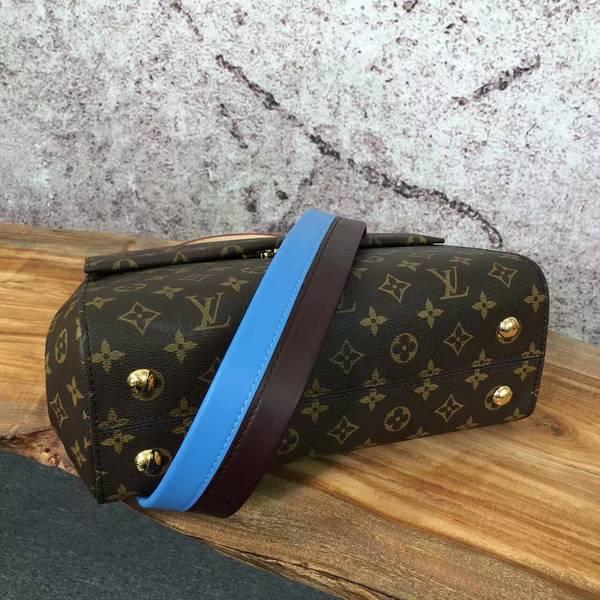 Louis Vuitton Monogram Canvas CLUNY Bag M42735 Blue