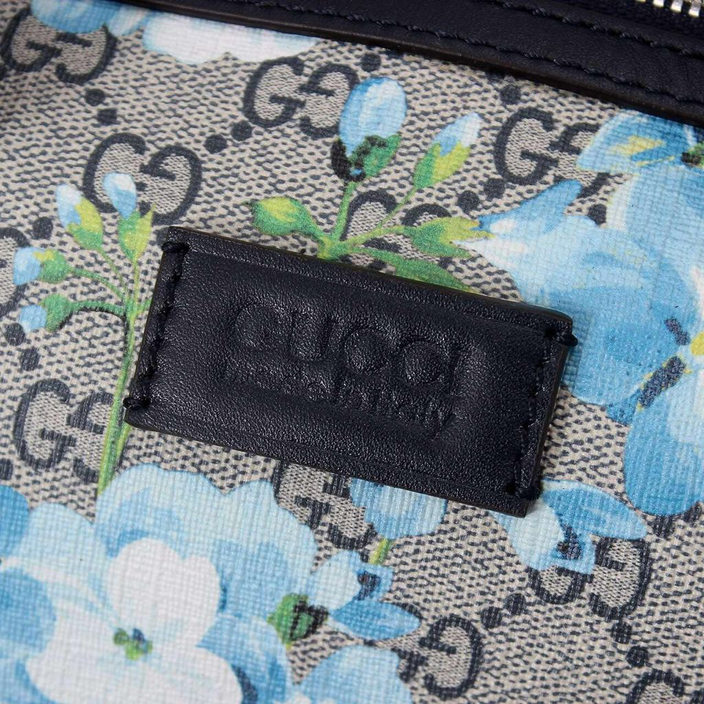 Gucci GG Canvas Leather Shoulder Bag 17228 Black