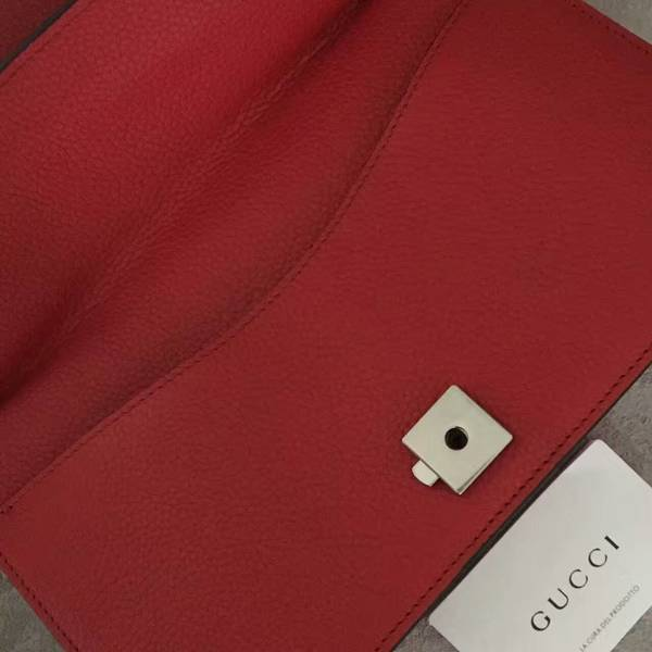 Gucci Dionysus Lichee Pattern Medium Shoulder Bag 400249 Red