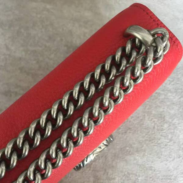 Gucci Dionysus Lichee Pattern Mini Shoulder Bag 421970 Red