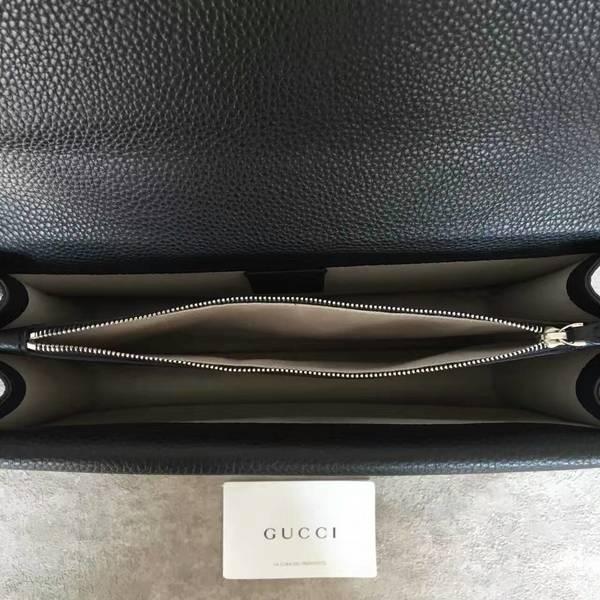 Gucci Dionysus Lichee Pattern Shoulder Bag 403348 Black