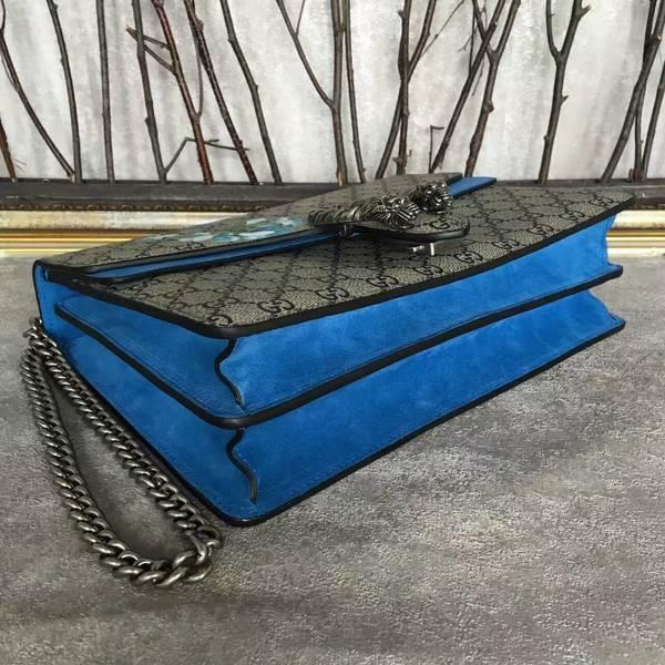 Gucci Dionysus GG Canvas Shoulder Bag 403348 Blue