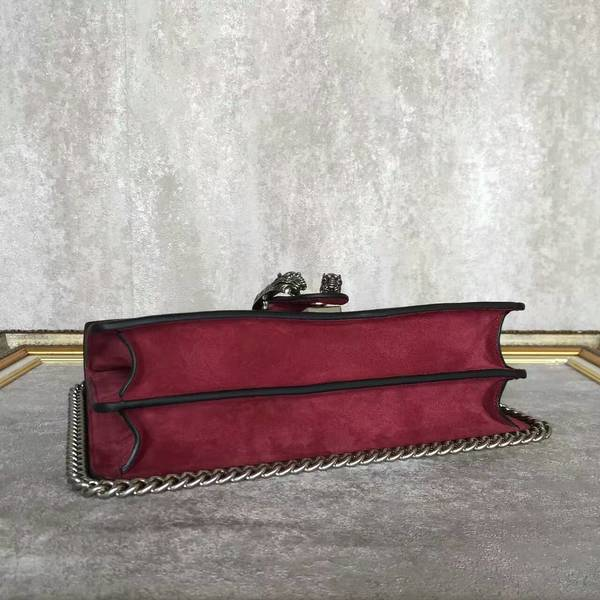Gucci Dionysus GG Canvas Shoulder Bag 403348 Wine