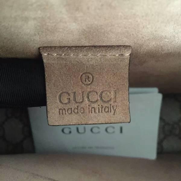 Gucci Medium Dionysus GG Canvas Shoulder Bag 400249 Camel