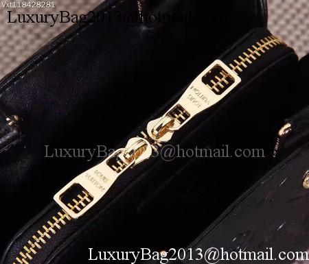 Louis Vuitton Monogram Empreinte NANO MONTAIGNE Bag M50865 Black
