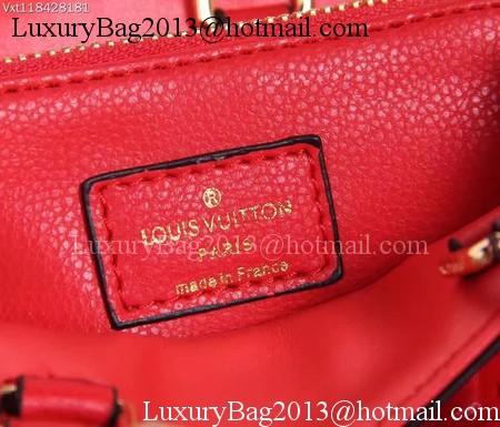 Louis Vuitton Monogram Empreinte NANO MONTAIGNE Bag M50865 Red