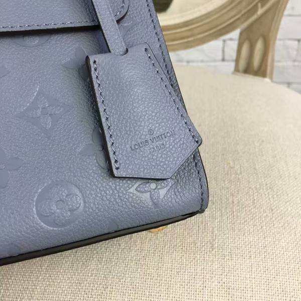 Louis Vuitton Monogram Empreinte PONT NEUF Bag M41755A Blue