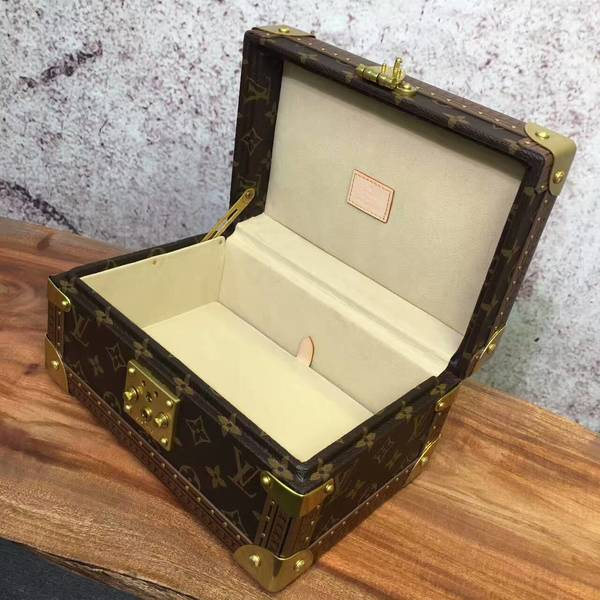 Louis Vuitton Monogram Canvas Treasure Box 40666 Yellow