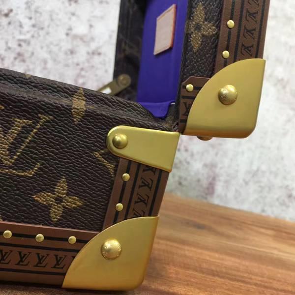 Louis Vuitton Mini Monogram Canvas Treasure Box 40665 Dark Blue
