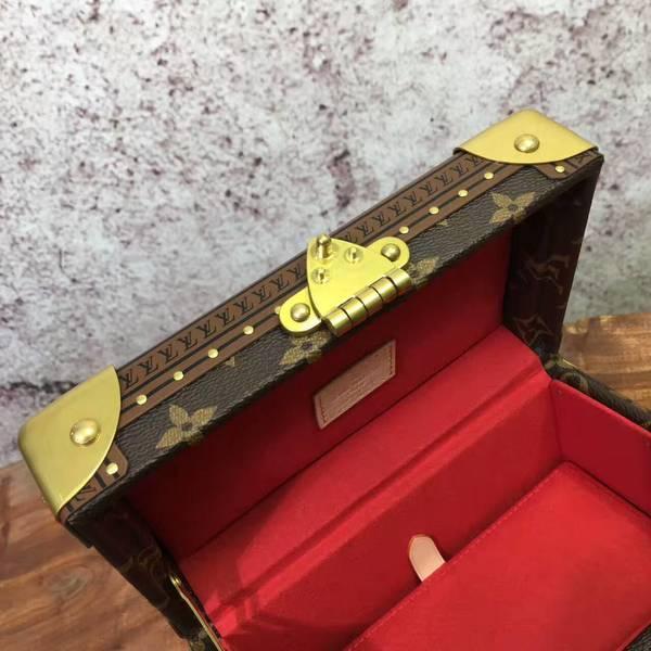 Louis Vuitton Mini Monogram Canvas Treasure Box 40665 Red