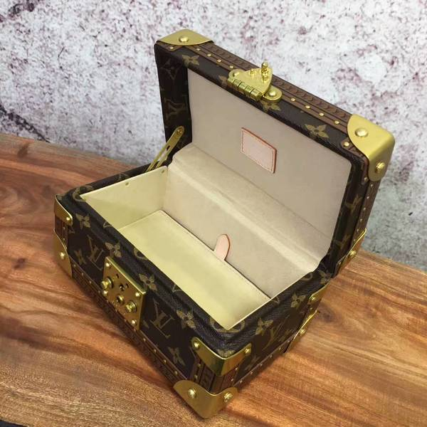 Louis Vuitton Mini Monogram Canvas Treasure Box 40665 Yellow