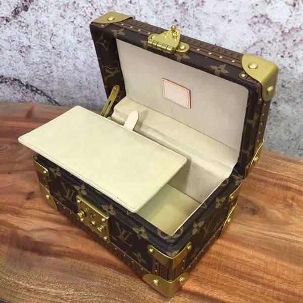 Louis Vuitton Mini Monogram Canvas Treasure Box 40665 Yellow