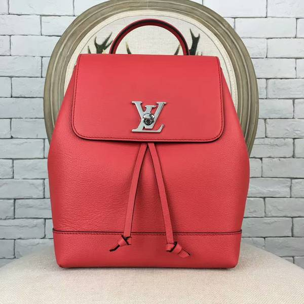 Louis Vuitton LOCKME BACKPACK 41817 Red