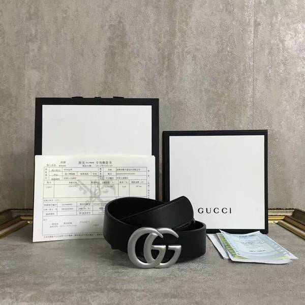 Gucci Original Calf Leather 4.0CM Belt 68885A